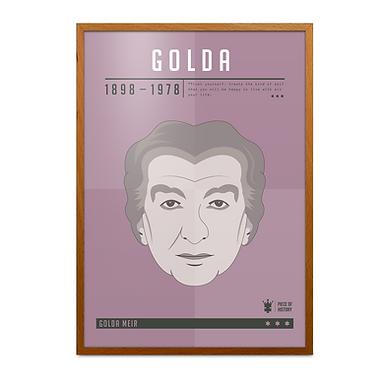 Golda Meir Print
