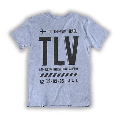 TLV - Airport Tag T-shirt