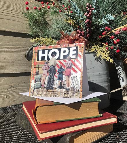 """""""Hope"""" 5 x 5 card"""