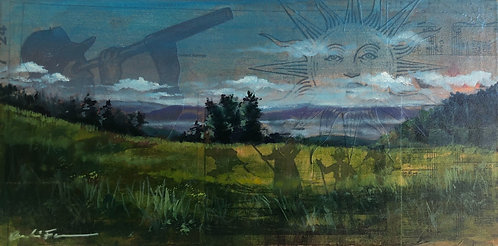 """""""Journey Through the Meadow"""" 6 x 12"""