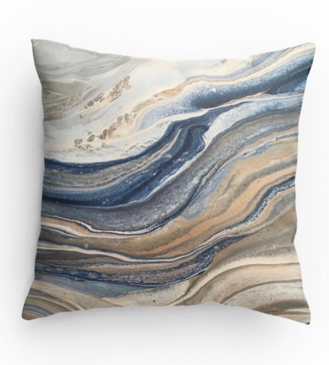 Mirage Decorative Print Pillow