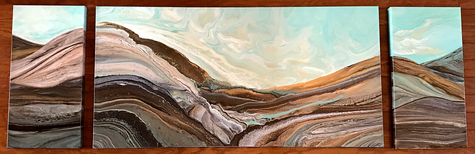 Tranquility Valley triptych