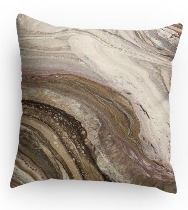 Desert Canyon Decorative Print Pillow