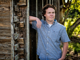 SFHS Senior Session | Sawyer | Angie Clayson Photography