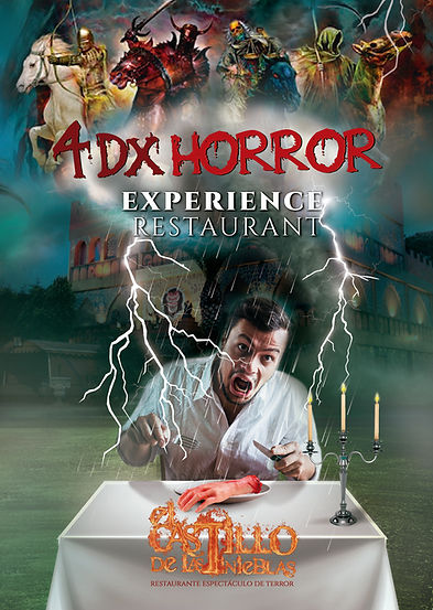 4DX Horror Experience Restaurant