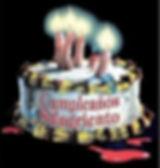 Pastel de cumpleaños del Castillo de las Tinieblas
