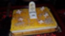 Pastel cementerio del Castillo de las Tinieblas