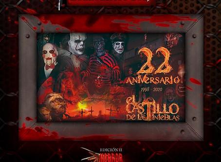 22 aniversario del reino de las tinieblas. Una larga trayectoria ofreciendo terror.