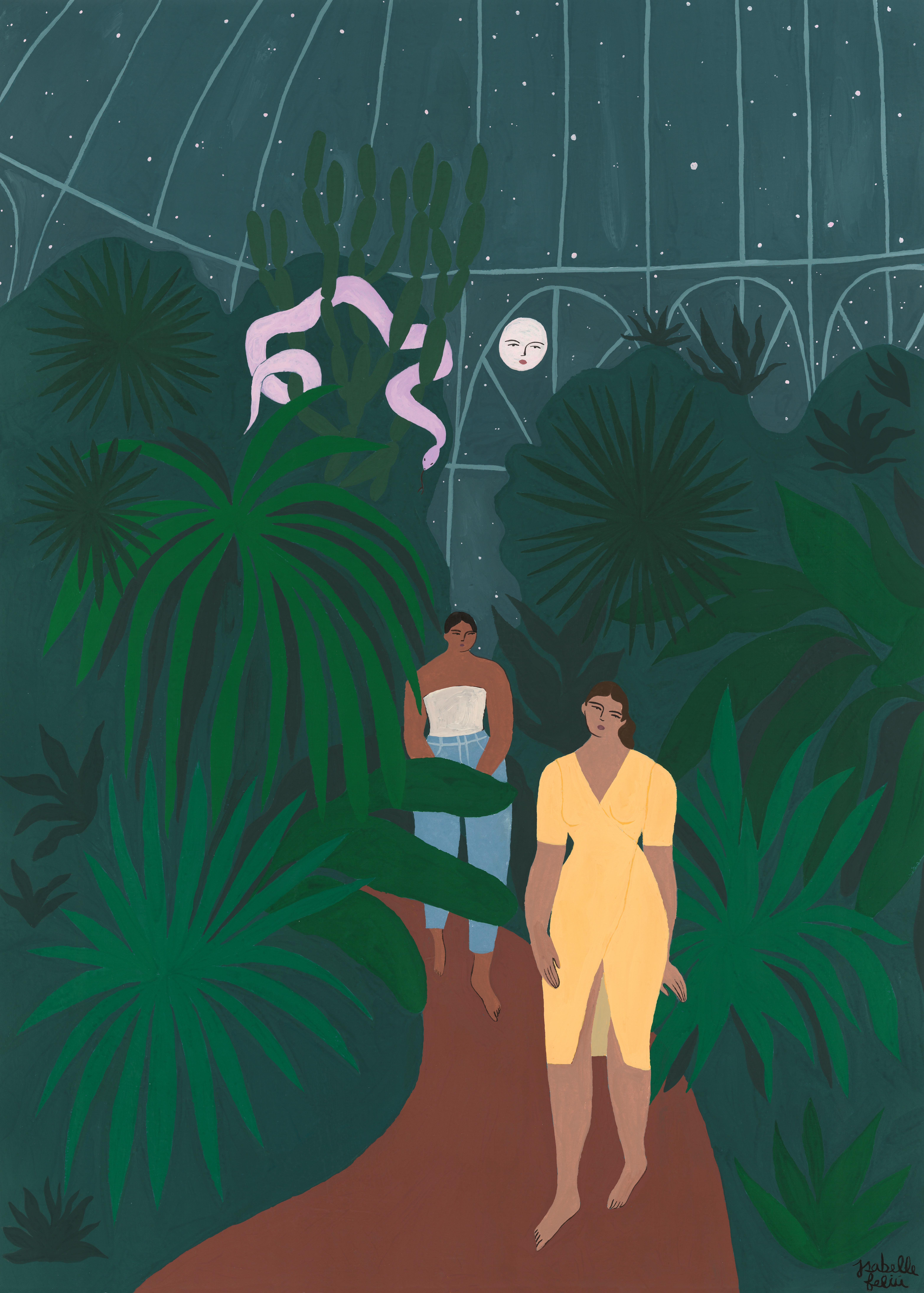 Le Jardin de Nuit by Isabelle Feliu