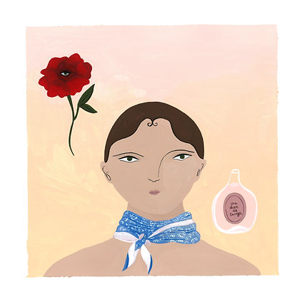 Une Dose de Courage 🧪 - Original (29.8 x 30 cm)