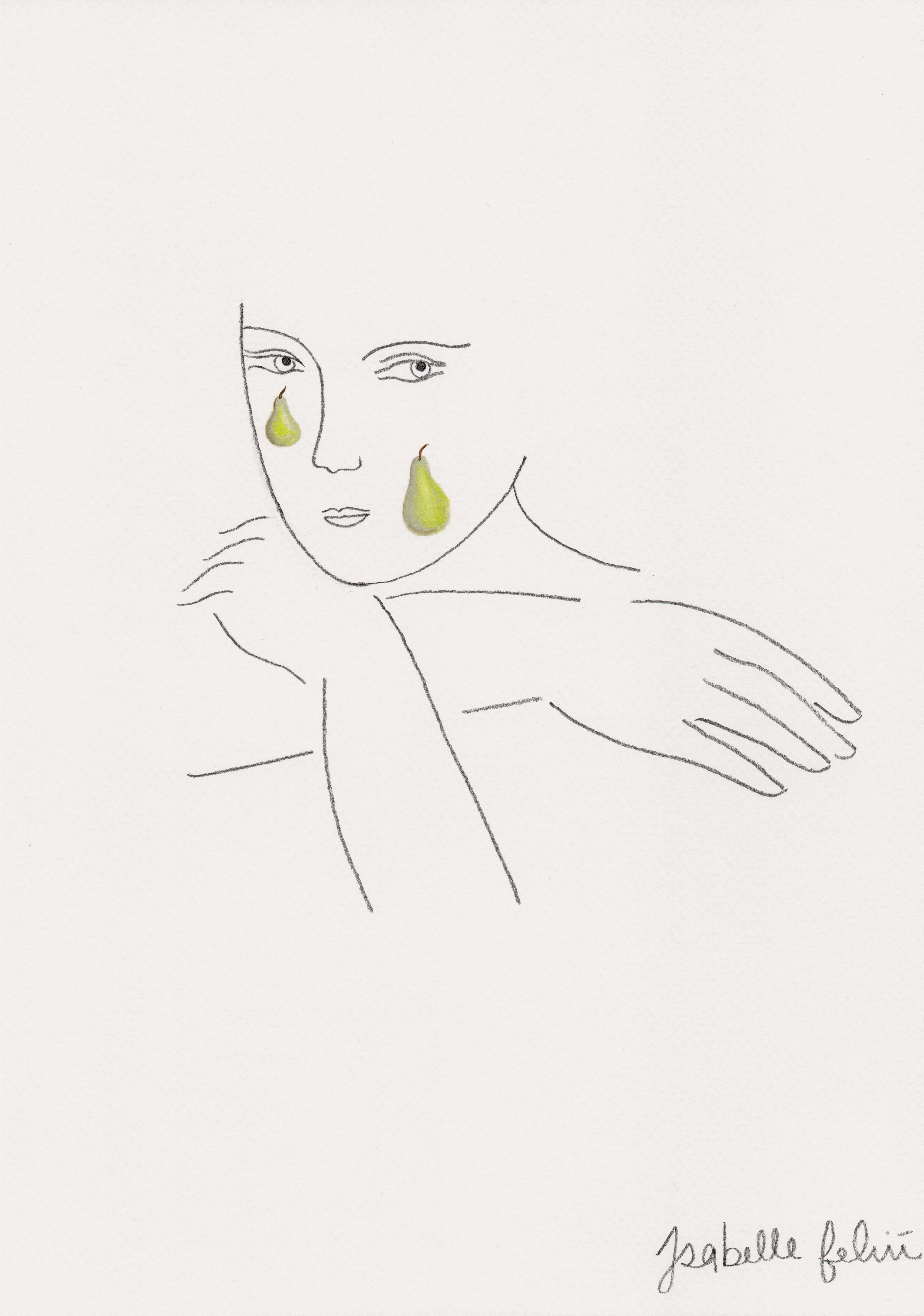 Pears:Tears Print