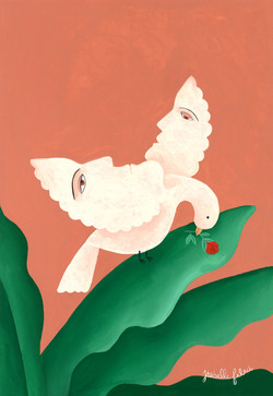L'envol imminent by Isabelle Feliu