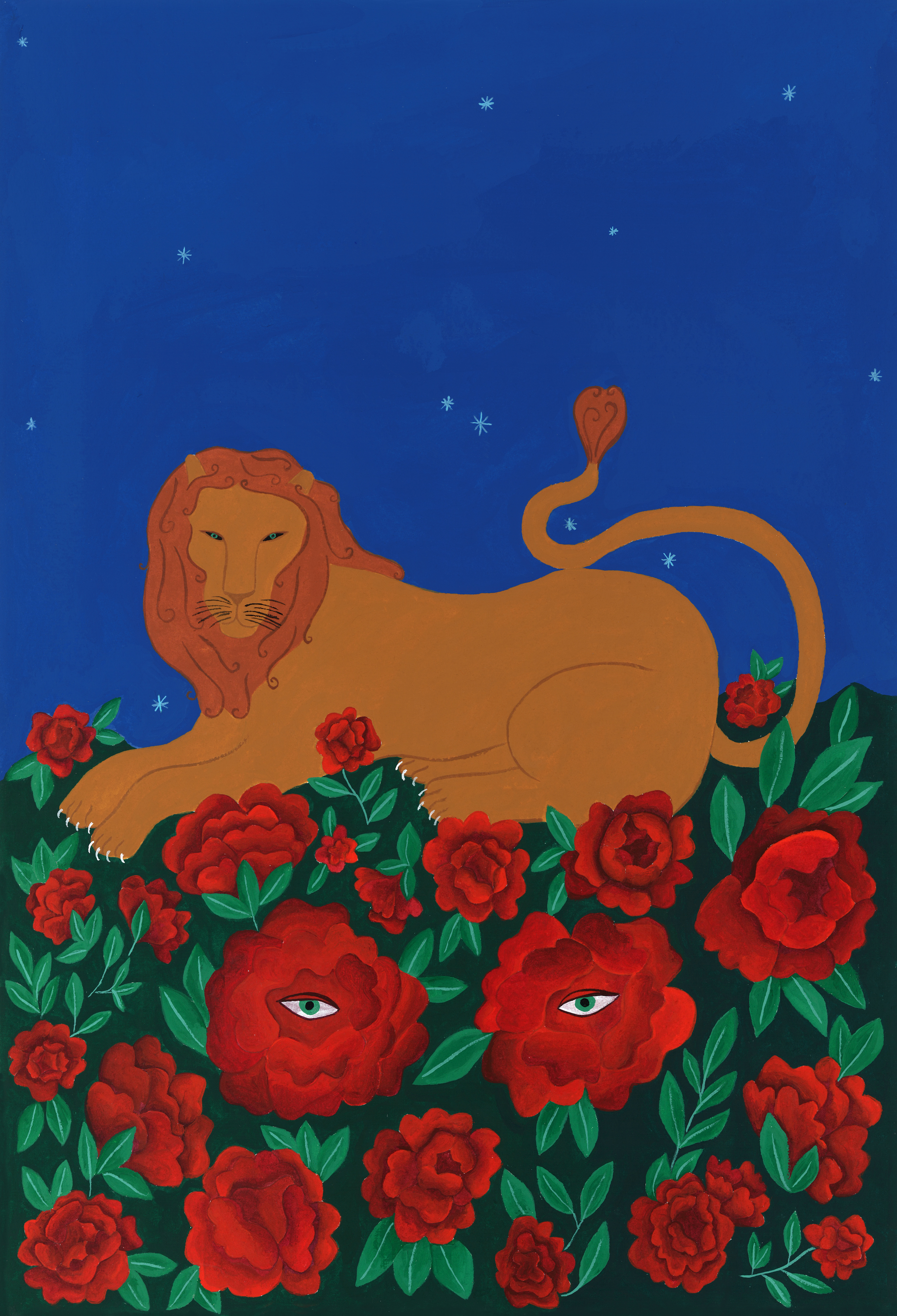 A gentle Lion by Isabelle Feliu