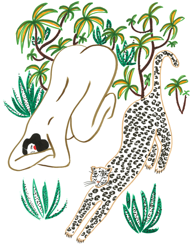 Yoga friends by Isabelle Feliu