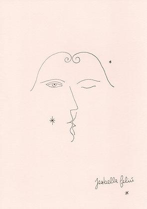 A Kiss to Self - Original (A4)