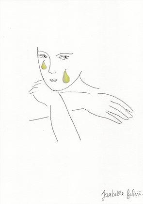 Pears/Tears - Original (A4)