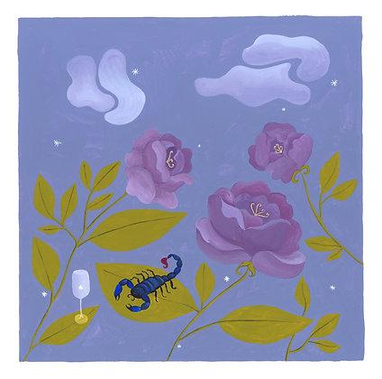 Scorpio ♏️ for Marie-Claire France - Original (30 x 30 cm)