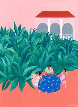 The Succulent Garden by Isabelle Feliu
