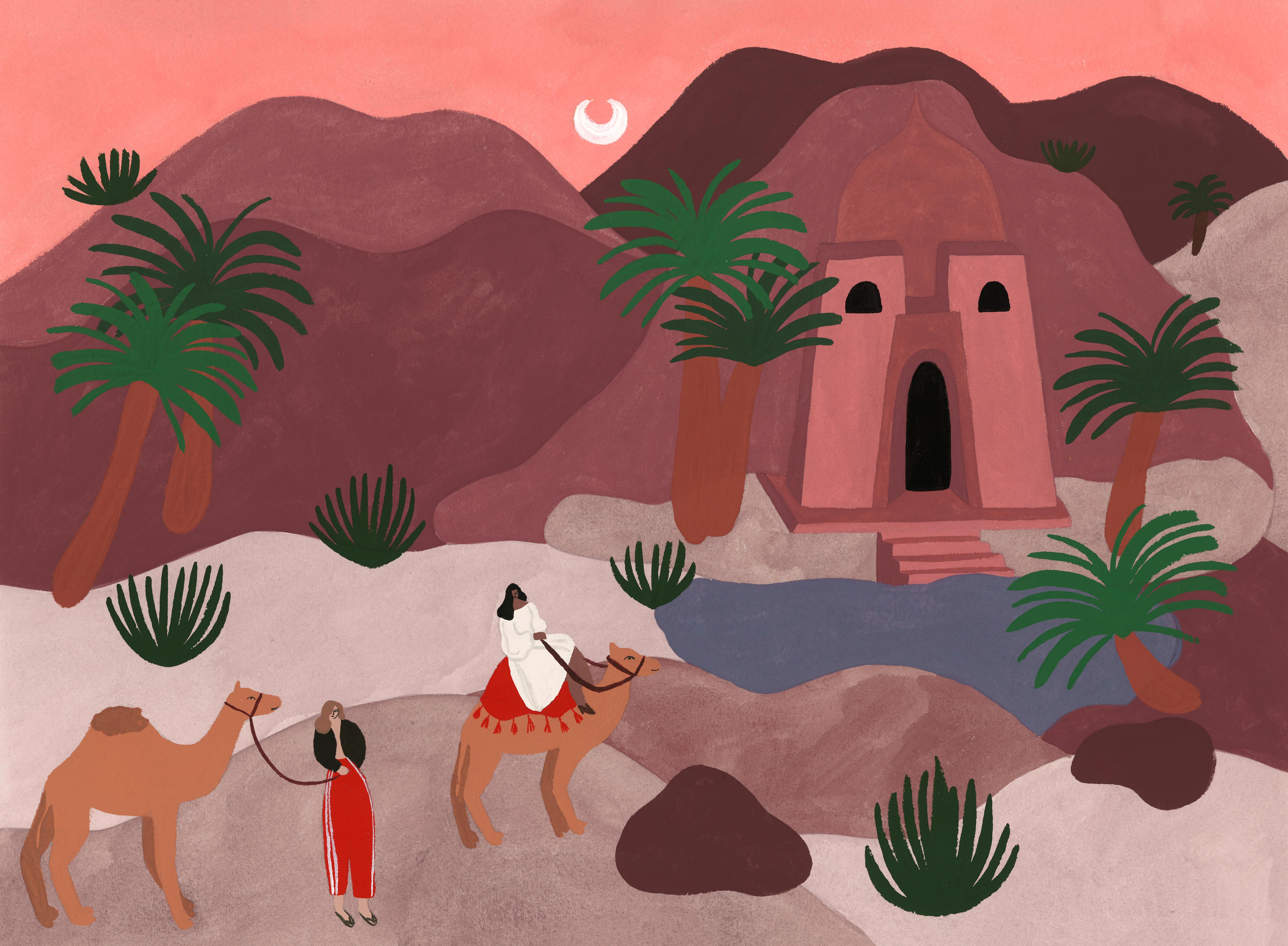 L'oasis du petit temple