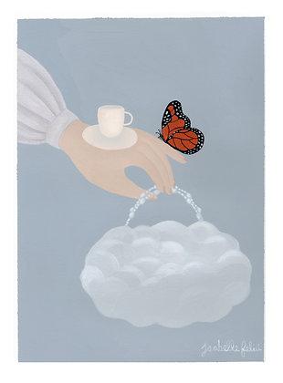 Unfocused ☁️ - Original (30.3 x 22.7 cm)