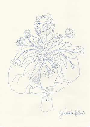 Explosion de tulipes 💐 - Original (A4)