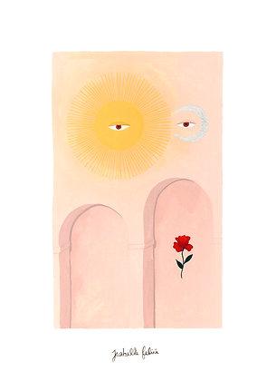 Ciel Observant - Original (26 x 36 cm)