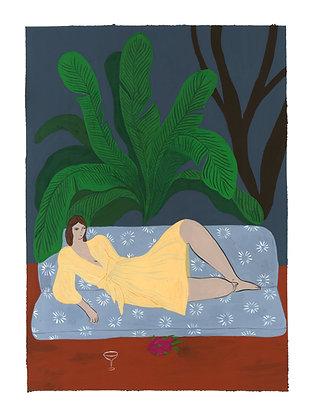 Tropical Nights - Original (30 x 40 cm)