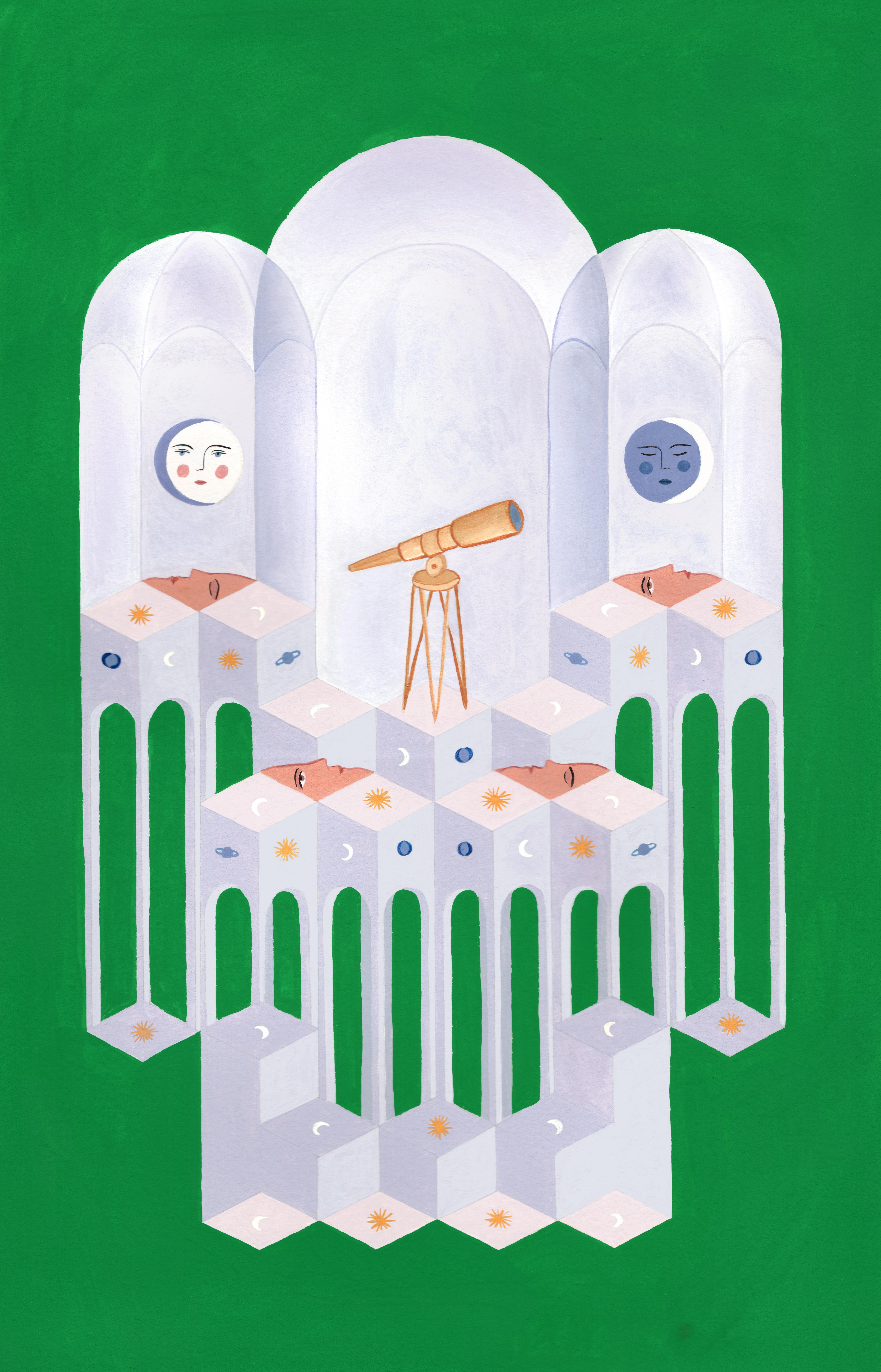 L'observatoire by Isabelle Feliu