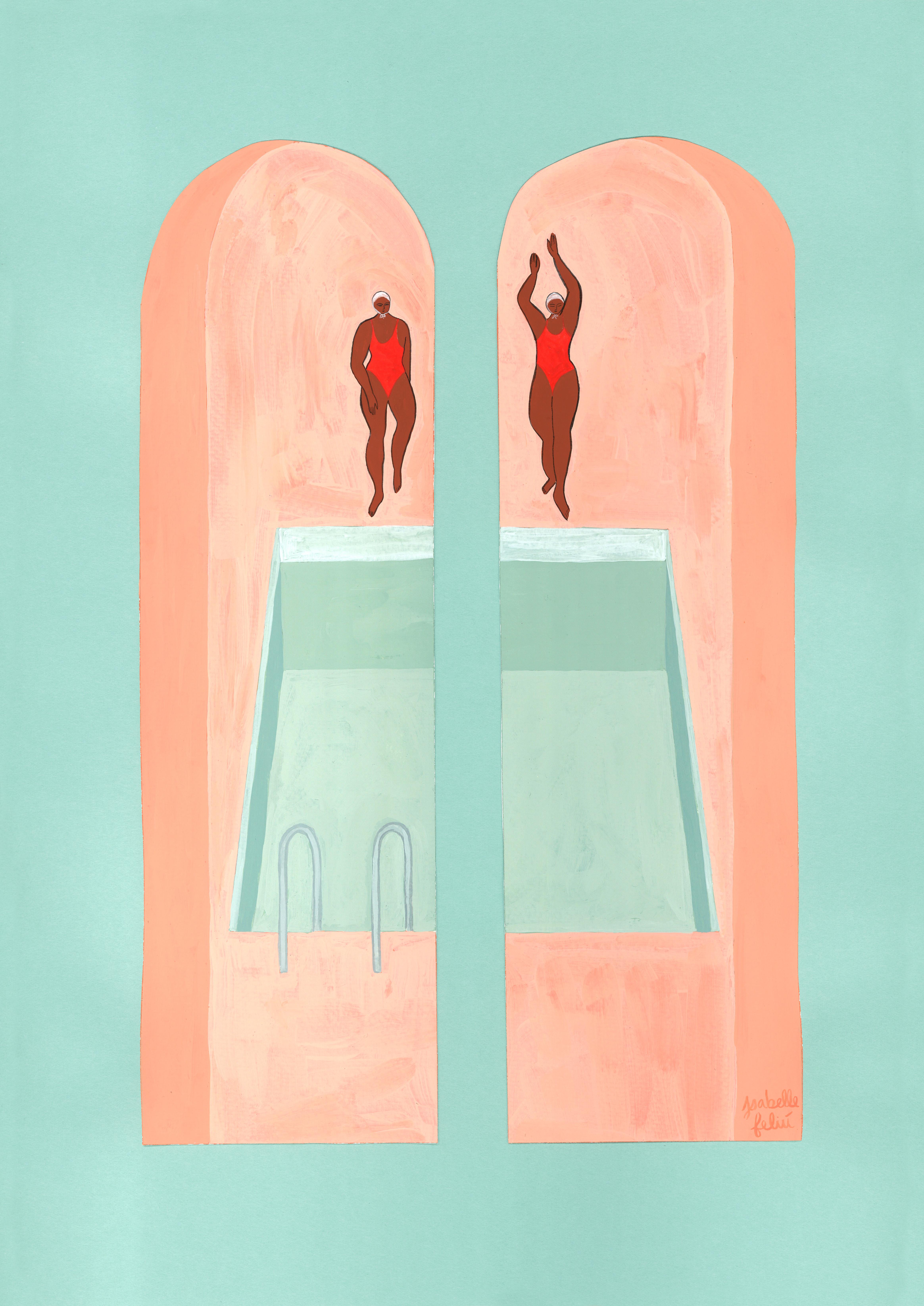 Les Nageuses by Isabelle Feliu