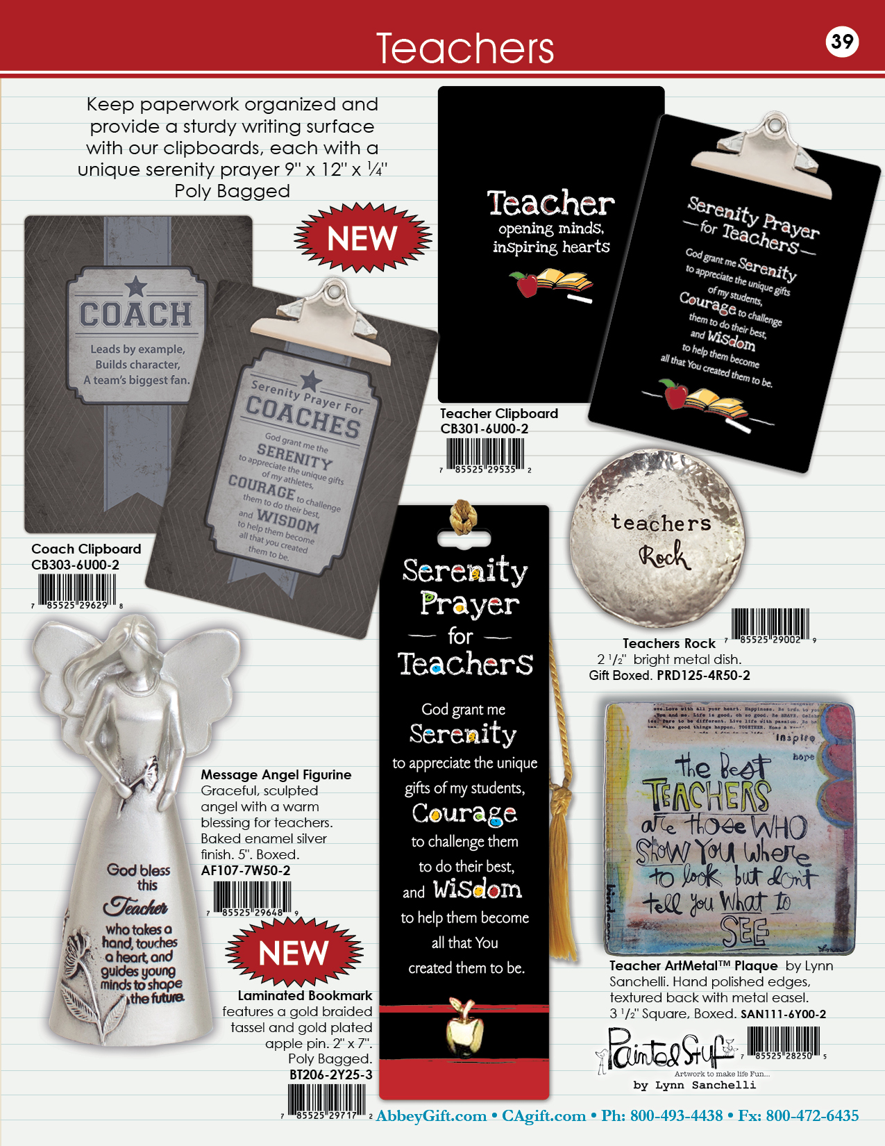 2019 Abbey CA Gift Catalog 39