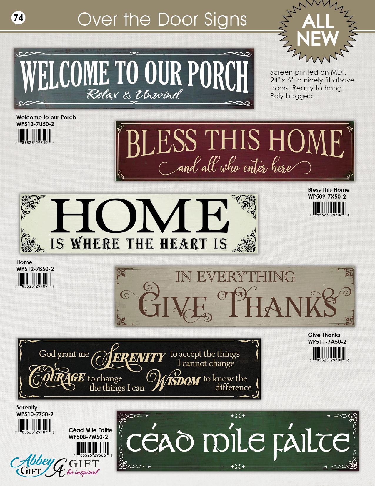 2019 Abbey CA Gift Catalog 74