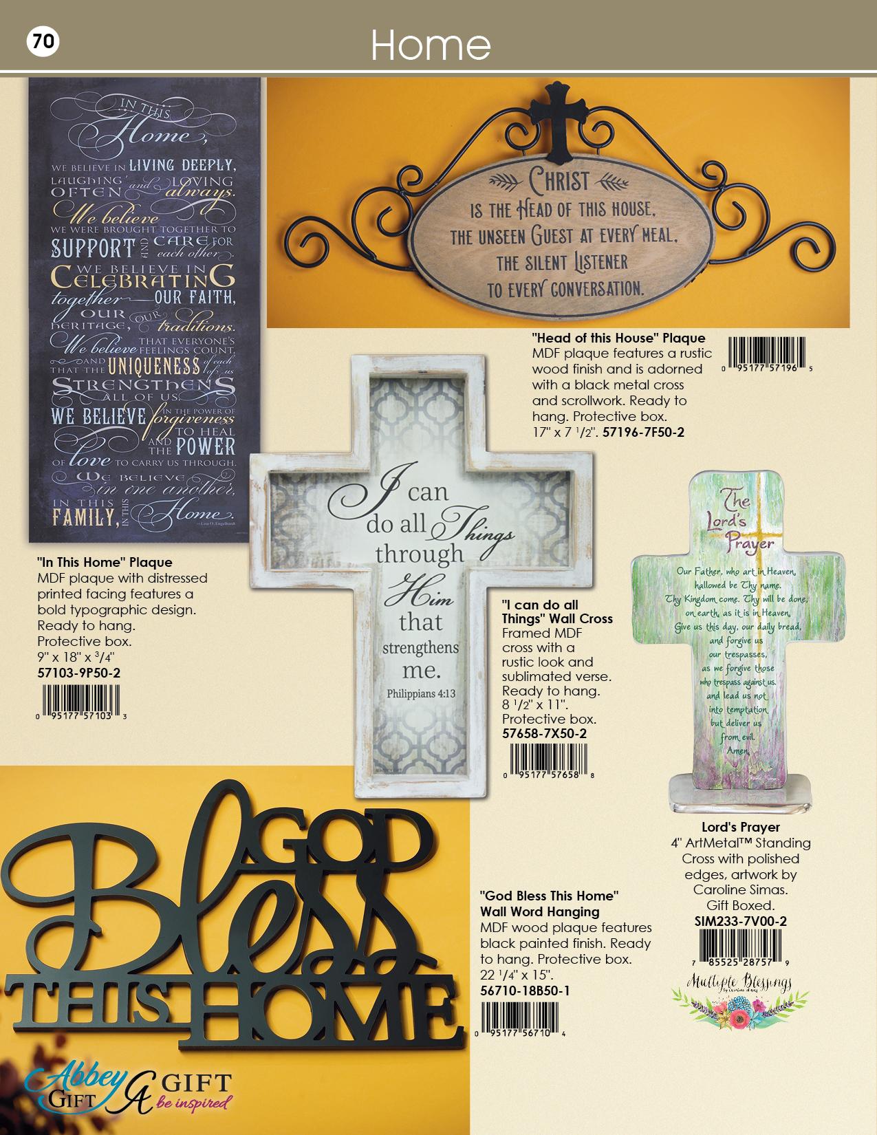 2019 Abbey CA Gift Catalog 70