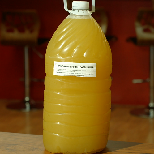 PINEAPPLE FLUSH FATBURNER GALLON