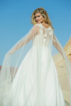 Immortal Kiss Cape | Ivory & Co Bridal | Willow Bridal