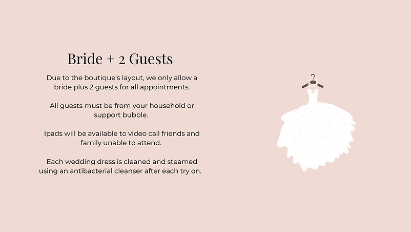 Bride Plus 2 Guests | Willow Bridal | Premium Bridal Boutique Cheshire