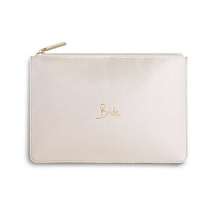 Bride Perfect Pouch- Pearlescent