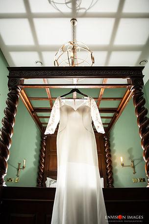 Hanging Wedding Dress   Van Der Velde   Envision Images
