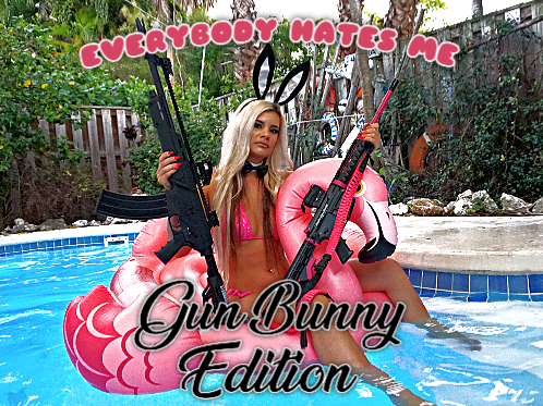 Autographed CD!!  Everybody Hates Me; Gun Bunny Edition
