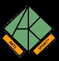 AKT1 Sport Classic Logo, white backgroun