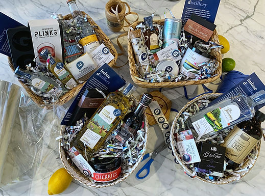 Boozy gifts + hampers