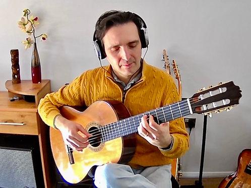 Lessons with Giorgio Serci