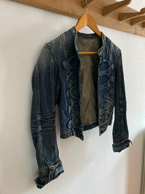 GIACCA IN JEANS LOTUS