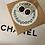 Thumbnail: ORECCHINO NERO/BIANCO CHANEL PICCOLO