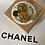 Thumbnail: COPPIA GEMELLI CHANEL OCRA/ORO