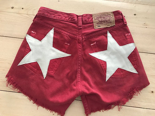 OUTLET - SHORT LEVIS MODELLO STARS TG.28