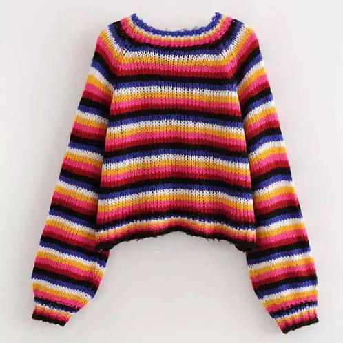 new photos eb86c 5f69d MAGLIONE A RIGHE COLORATE