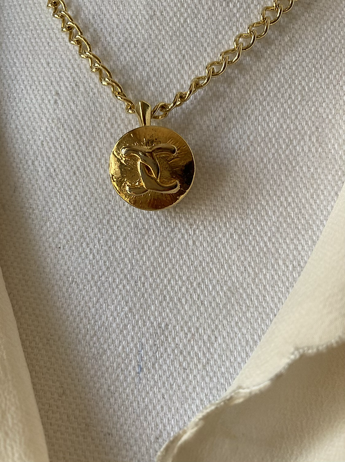COLLANA REWORKED CHANEL ORO