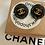 Thumbnail: ORECCHINO NERO MEDIO CHANEL