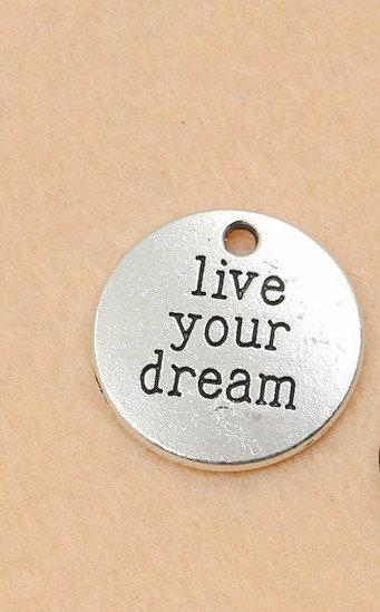 CIONDOLO LIVE YOUR DREAM