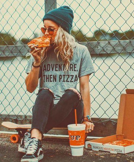 TEE ADVENTURE, THEN PIZZA